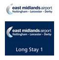East Midlands Airport Parking logos