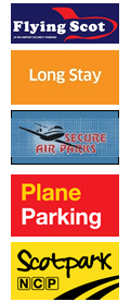 Edinburgh Airport Parking logos