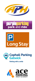 Gatwick Airport Parking logos