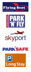 Glasgow Airport Parking logos