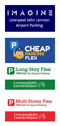 Liverpool Airport Parking logos