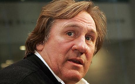 Gerard Depardieu behaving badly