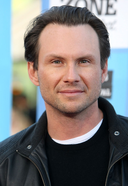 Christian Slater behaving badly