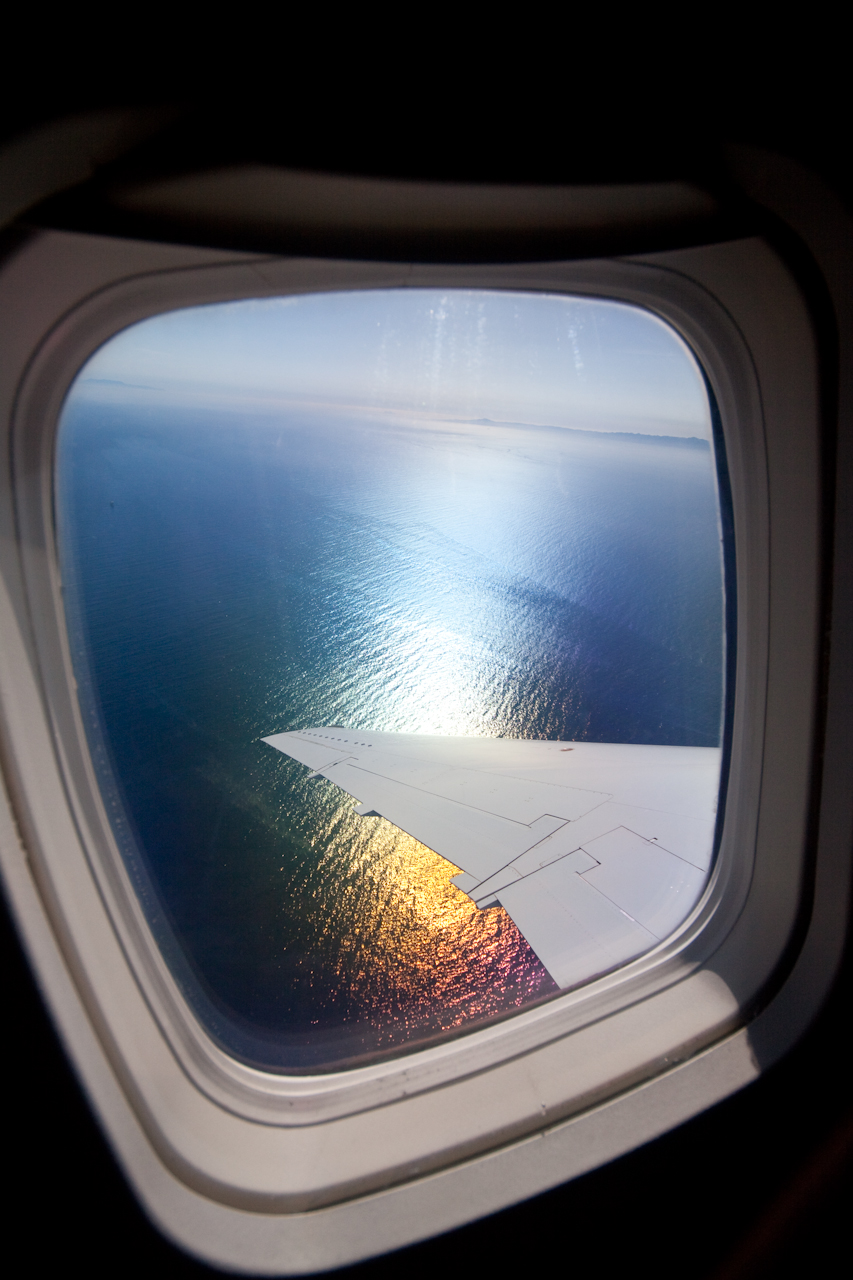 plane window views ocean view - Cyber Shots Competition December 2014