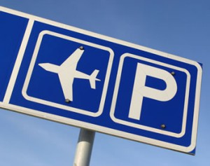 Airport parking image