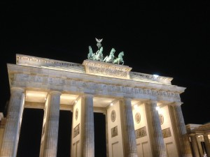 Brandenburg Gate Berlin - Bridge of Spies