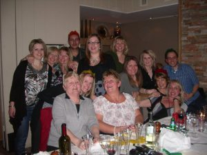2010 Christmas night out | FHR 30th Birthday Interview Liz Seddon | Book FHR Blog