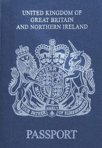 UK Blue Passport | Book FHR