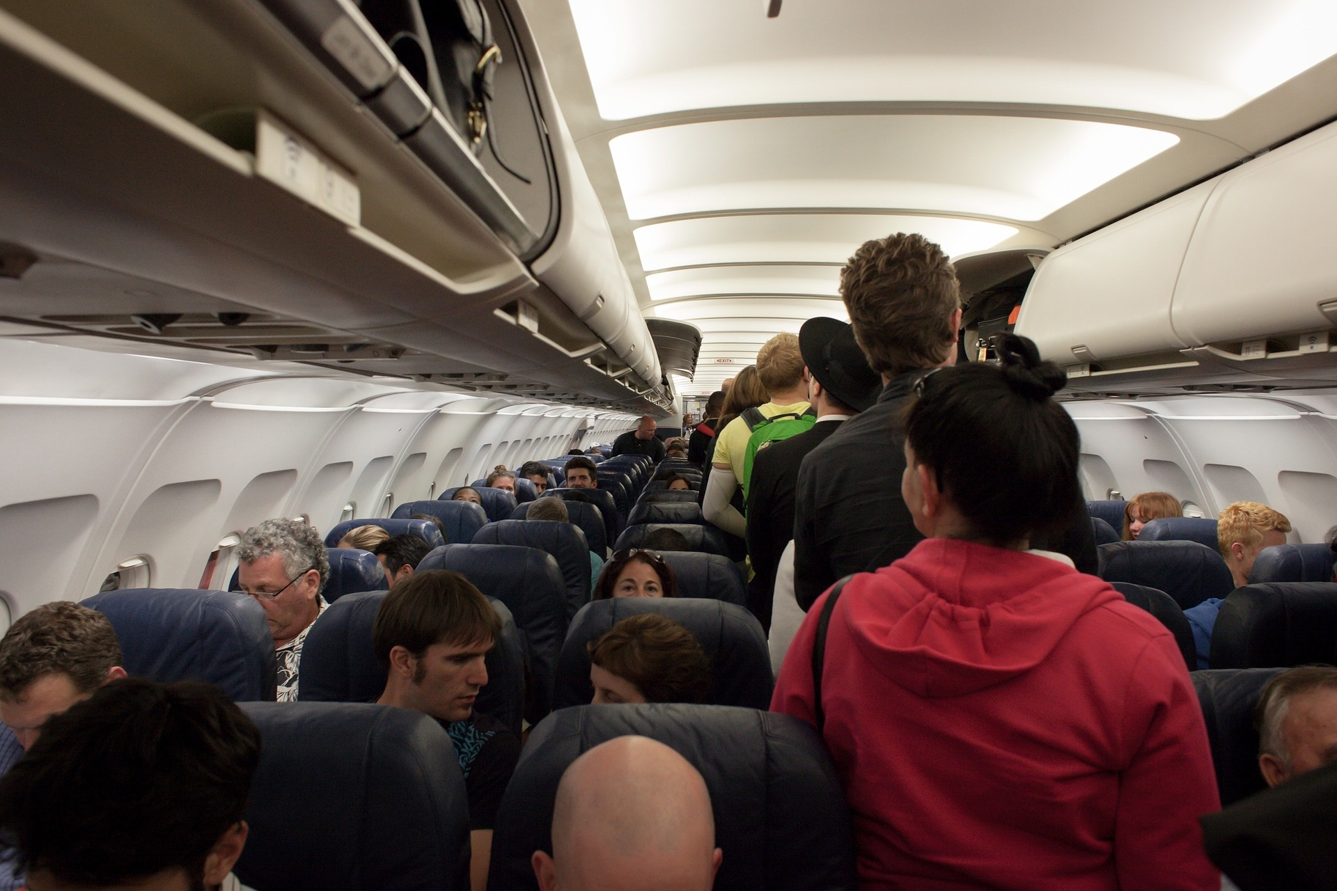 Airplane Cabin Seating | Book FHR
